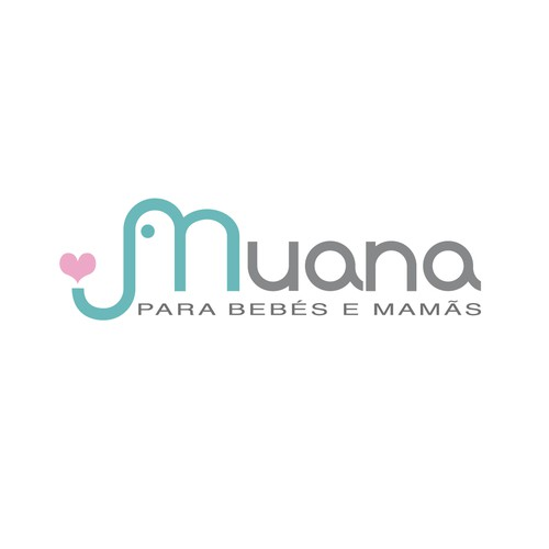 Baby boutique design with the title 'Create a brand inspired by the 20 years to my store'