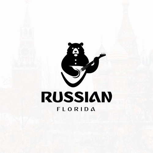 Music logo with the title 'Russian Florida'