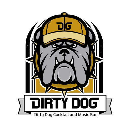 Dirty logo with the title 'Icon Bar and Music'