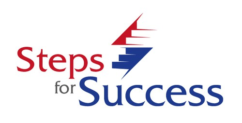 Stair logo with the title 'Logo design for a consulting business'
