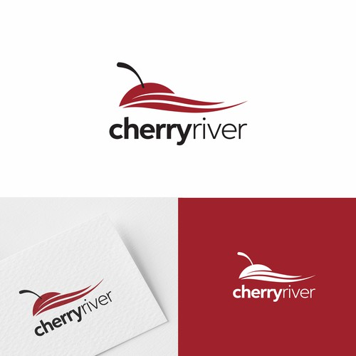 Cherry logo with the title 'Cherry River'