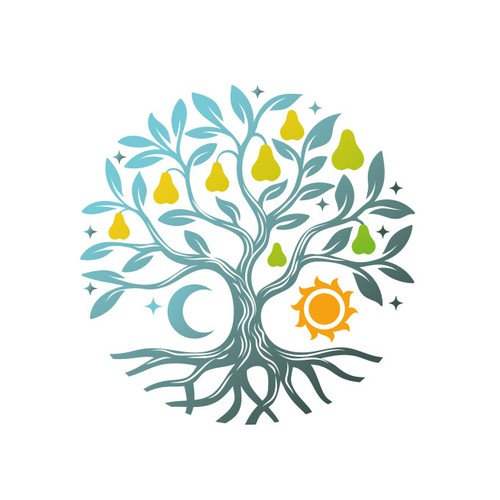 Star design with the title 'Pear Tree '