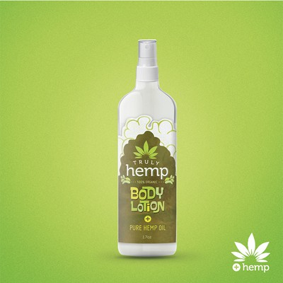 Truly Hemp  product label
