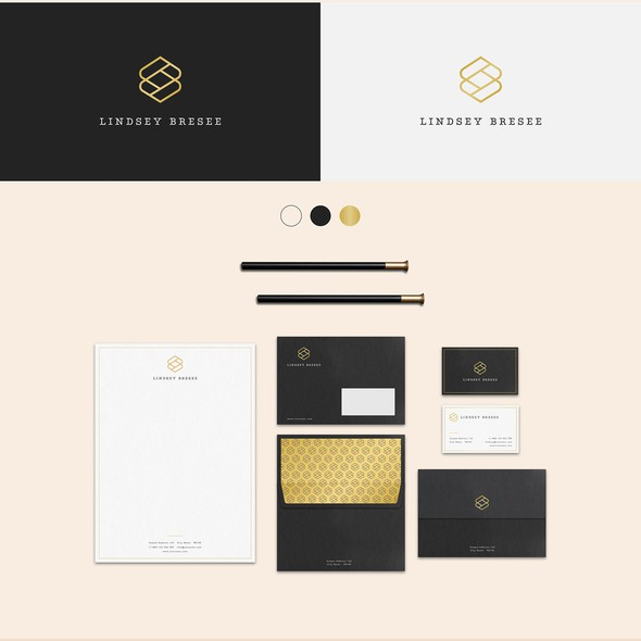 Minimal design with the title 'High end drapery and soft home goods company in SF Bay Area'