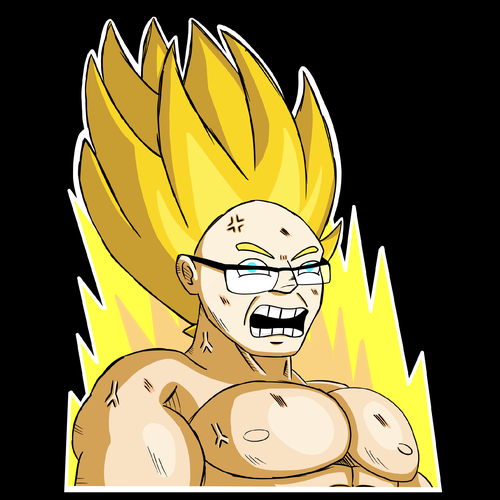 Internet t-shirt with the title 'Personal Super Sayan'