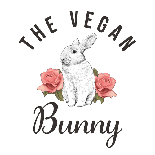 Bunny logo with the title 'Logo Design'