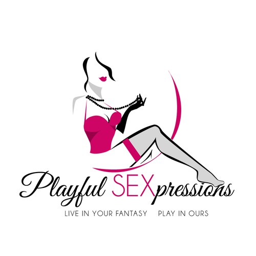 Sexy design with the title 'Sexy logo'