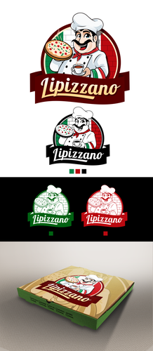 Coffee brand logo with the title 'Logo need for pizza/coffee shop'
