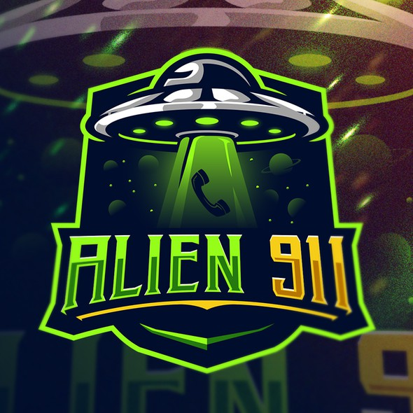 Alien logo with the title 'Alien 911'
