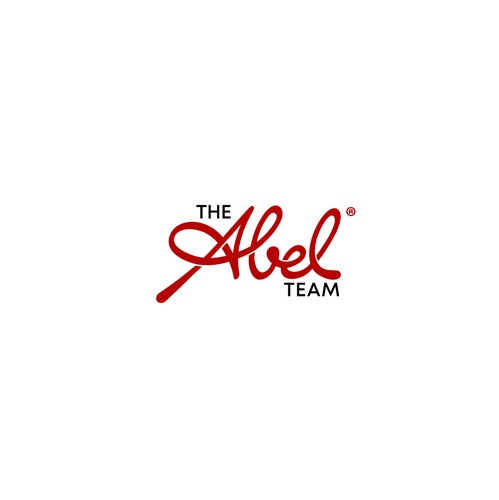 Logo with the title 'The Abel Team'