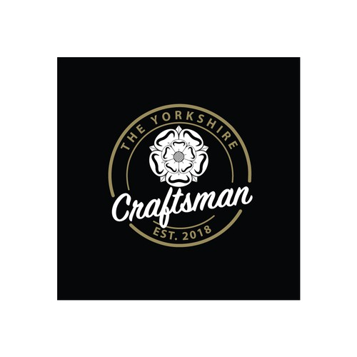 Craftsman logo with the title 'The Yorkshire Craftsman Logo'