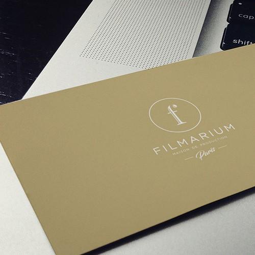 Classical design with the title 'Filmarium'