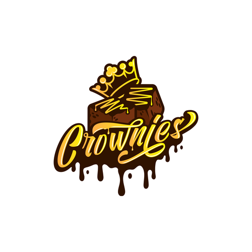 Logo with the title 'Crownies'