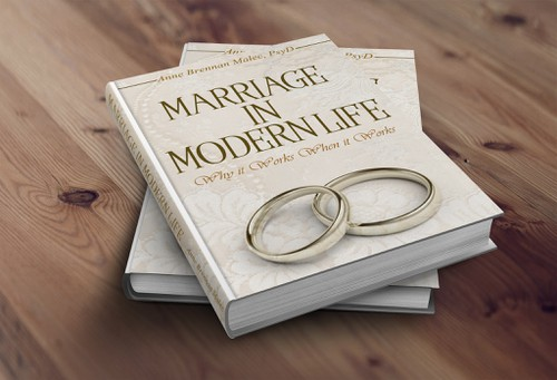 Marriage book cover with the title 'Book Cover Design'