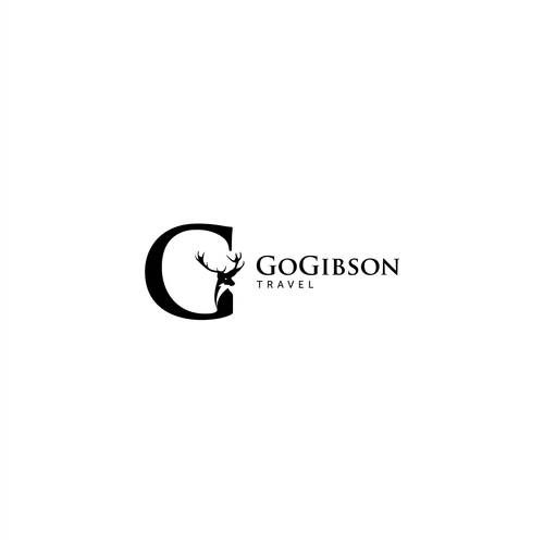 Buck design with the title 'logo for GoGibson'