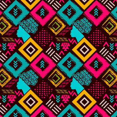 colorful pattern for women of colors