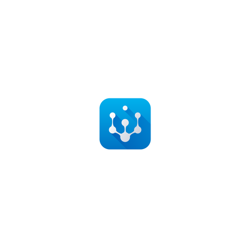 Molecule design with the title 'Logo Webology Agency Digital'