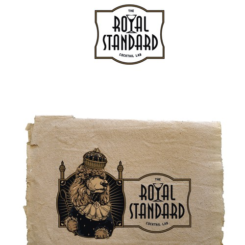 Royal design with the title 'The Royal Standard'