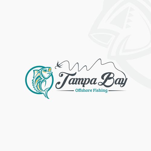 Tribal logo with the title 'Triball tuna fish'