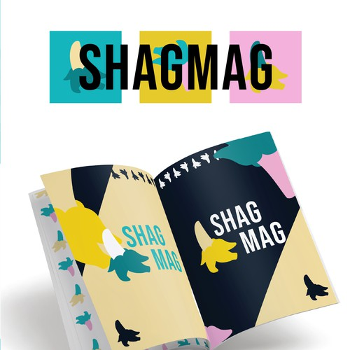 Magazine logo with the title 'ShagMag'