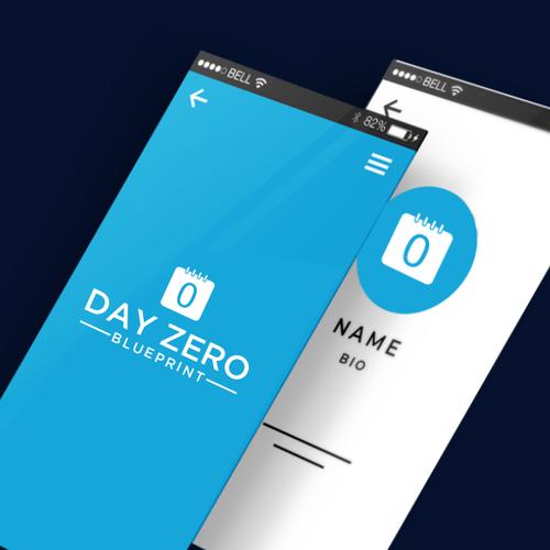 Zero design with the title 'Day Zero Blueprint'