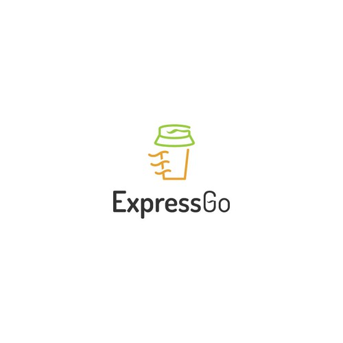 Express design with the title 'ExpressGo café'