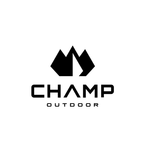 Mountain design with the title 'mountain logo'