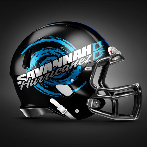 Southern design with the title 'Logo for semi-pro football team'