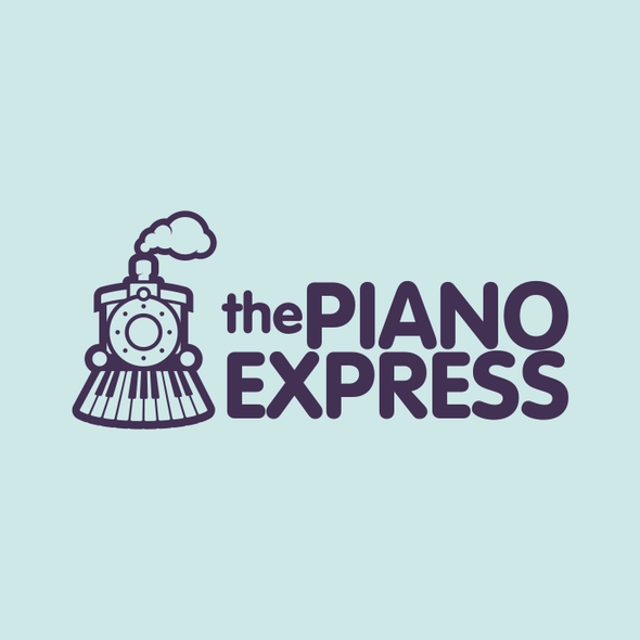 Express design with the title 'New logo wanted for The Piano Express'