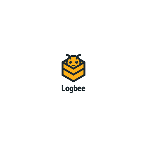 Logistics logo with the title 'Logo for Logbee'