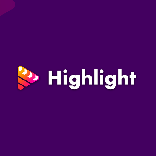 Video design with the title 'Play the highlight'
