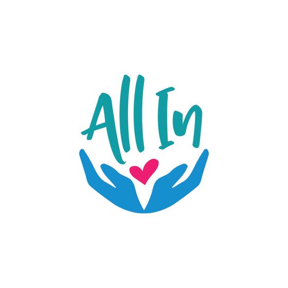 Volunteer logo with the title 'Logo design for community volunteer organization'