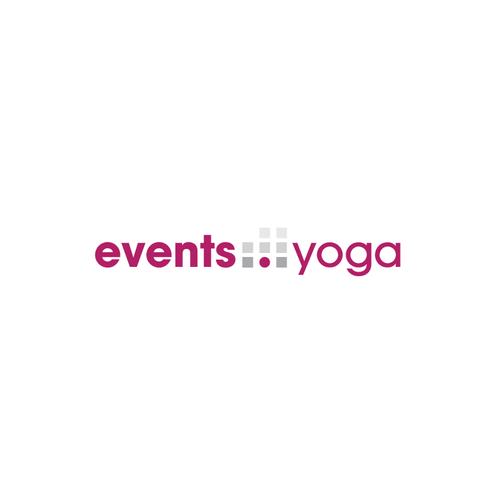 Calendar design with the title 'Logo for calendar of  yoga events'