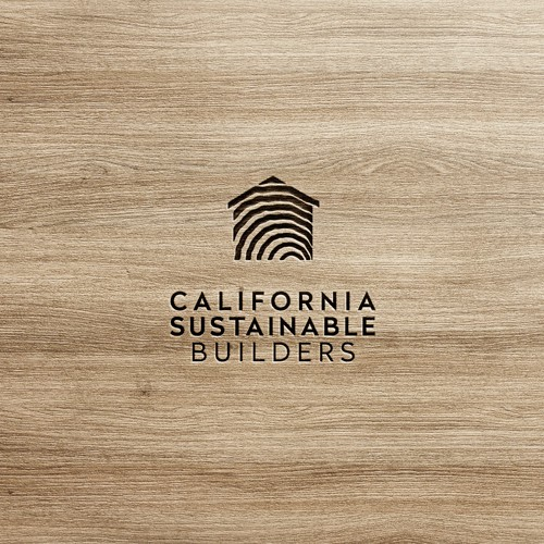 Sustainable design with the title 'Logo Design'