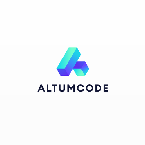 Clean and simple logo with the title 'Logo for Altumcode'