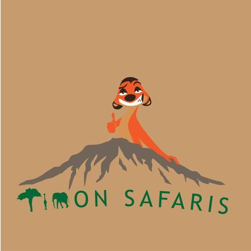 Savannah logo with the title 'Safari logo'
