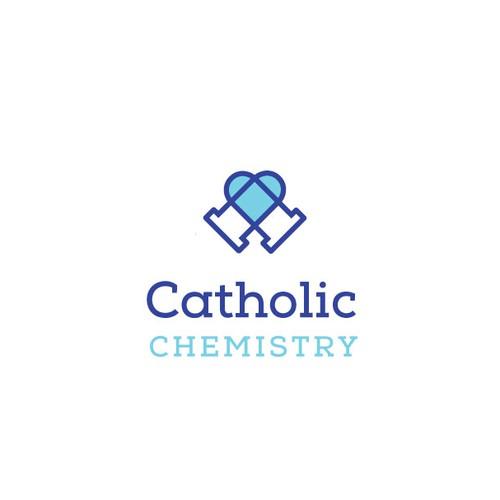 Catholic logo with the title 'Catholic Chemistry'