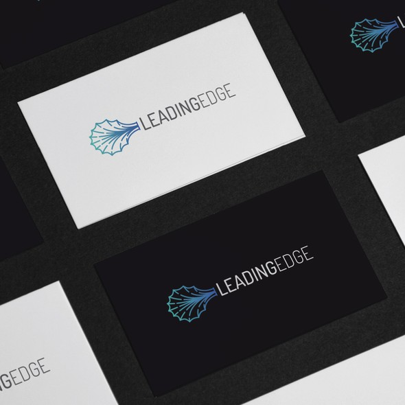 Medical logo with the title 'Modern logo for Leading Edge'