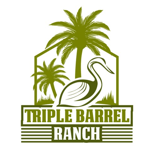Florida logo with the title 'Logo for a Ranch'