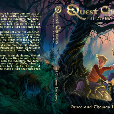 Book cover for Quest Chasers