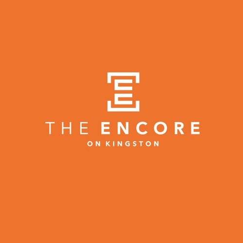 Mortgage logo with the title '«The Encore on Kingston» logo'