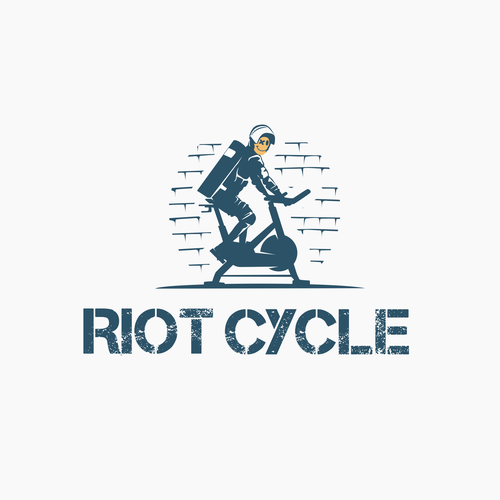 Cycling design with the title 'Clever logo for RIOT CYCLE'