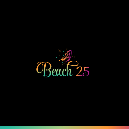 Sparkle design with the title 'Logo for Beach 25'