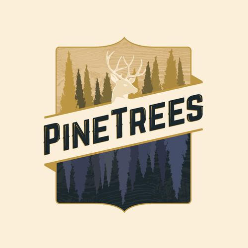 Wildlife logo with the title 'Classic outdoors emblem logo'
