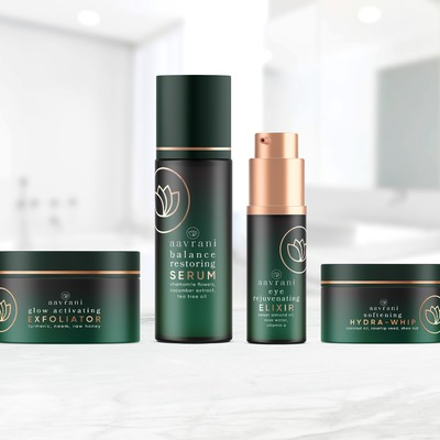 Aavrani Skincare Packaging Design