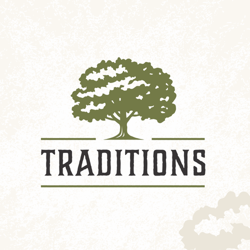 Vacation design with the title 'Traditions'