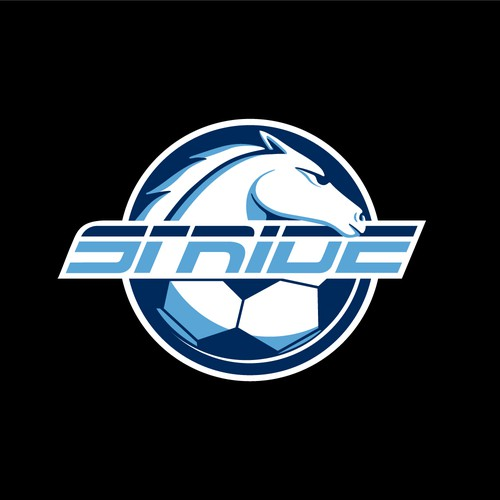 Series logo with the title 'Stride (Soccer Championship).'