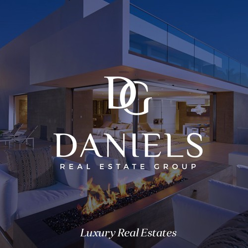 Copper design with the title 'Daniels Real Estate Group'