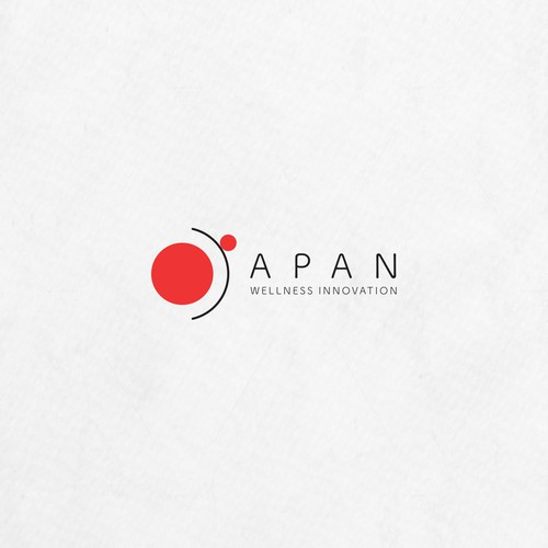 Innovative logo with the title 'JAPAN Wellness Innovation'