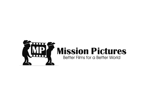 Mission logo with the title 'Mission Pictures film company needs new logo!'